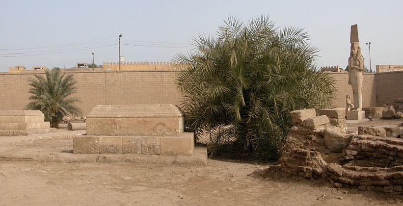 Храм божества Мин в городке Ахмим