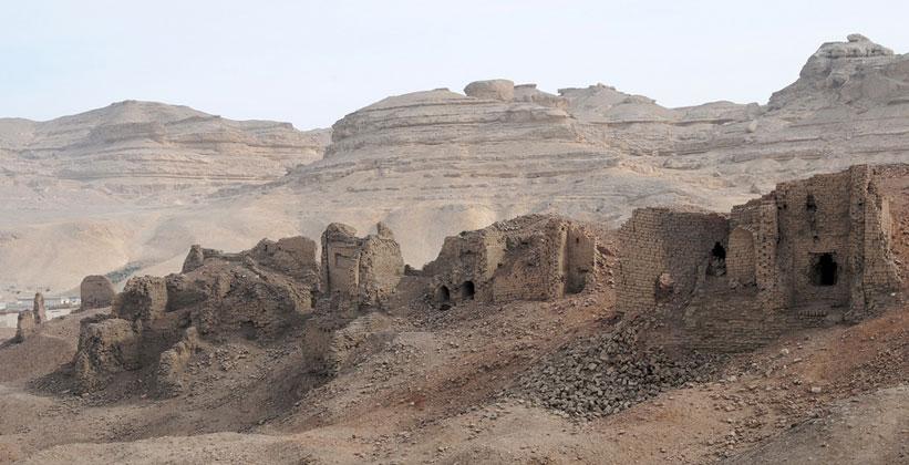 Деревня Техна Эль-Джебель в Египте