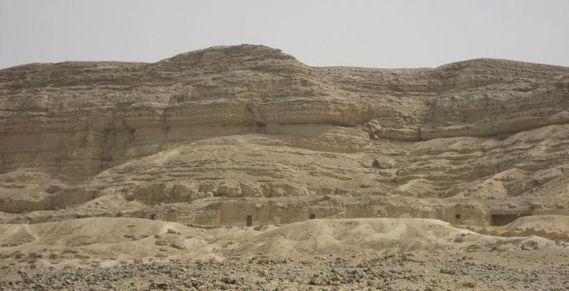 Гробницы Бени-Хасана в Египте