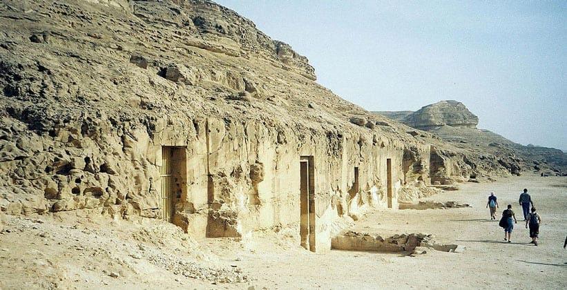 Гробницы Хети и Бакета III