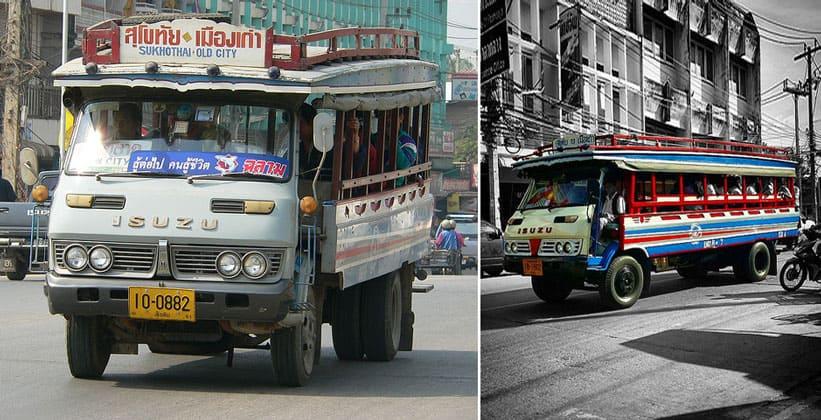 Муниципальный транспорт в Сукхотайе