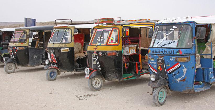 Транспорт в Тель-эль-Амарне
