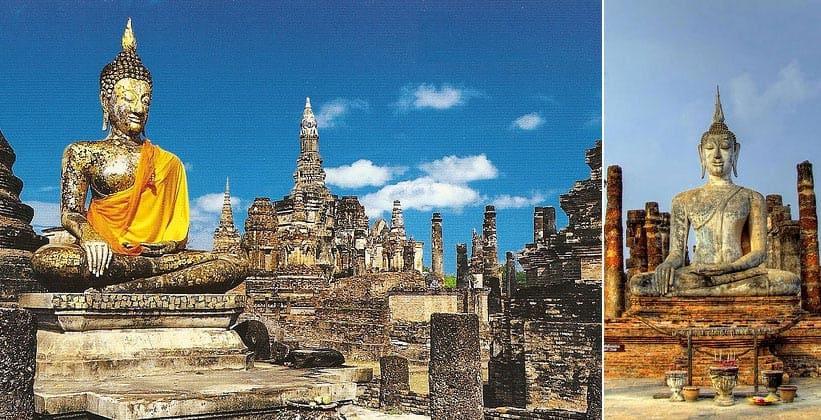 Храмовый комплекс Ват Махатхат в Сукхотайе