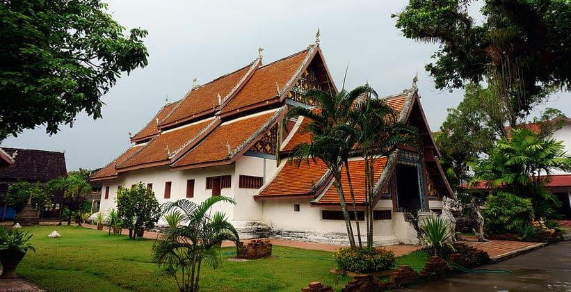 Храм Ват Нонг Буа (окрестности Нана)