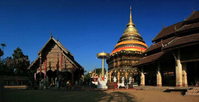 Храм Ват Пхра Тхат Лампанг Луанг