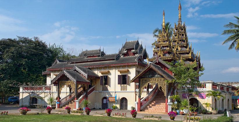 Храм Ват Шри Чам в Лампанге