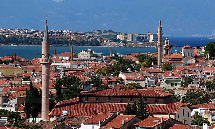 Город Айвалык в Турции