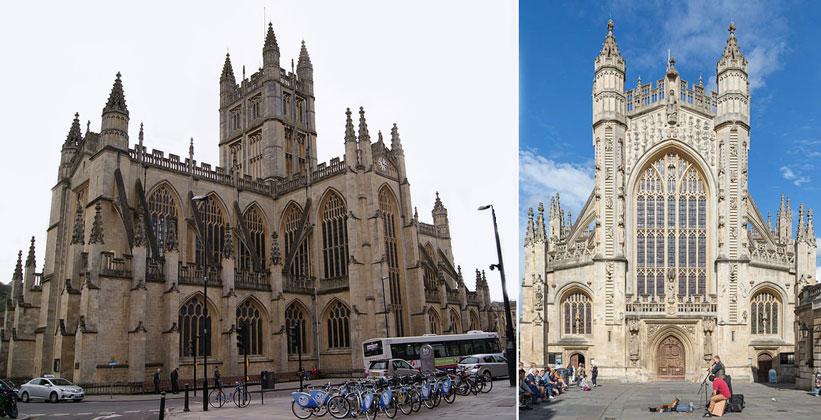 Батское аббатство в Англии