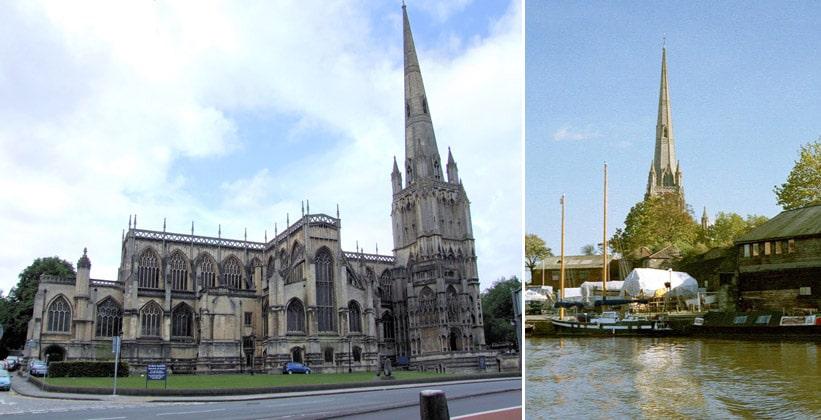 Церковь Святой Марии Рэдклиффской в Бристоле