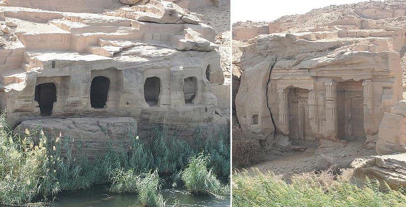 Древние строения в окрестностях Дарау