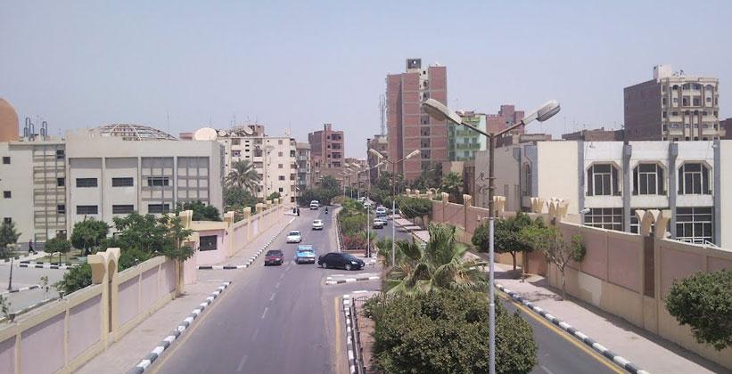 Египетский город Фаюм