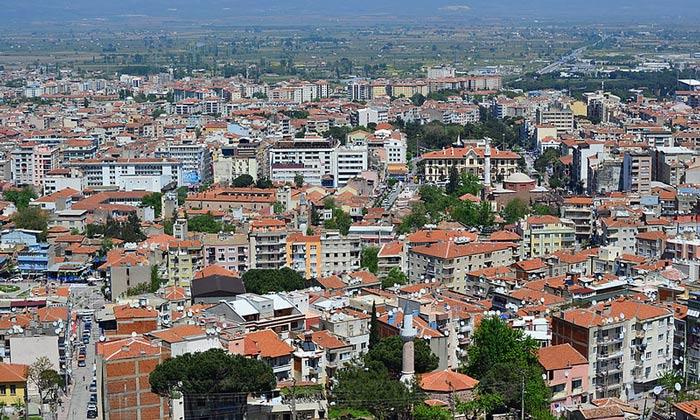 Город Маниса в Турции