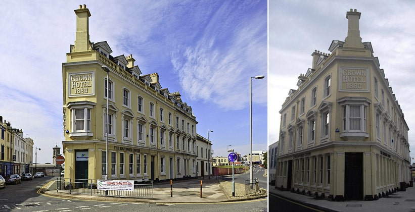 Отель Crown в Плимуте