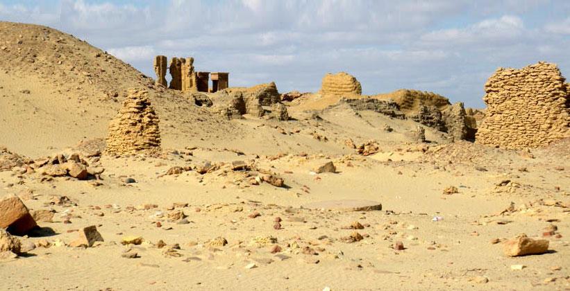 Ком Ошим (древний Каранис) в Египте
