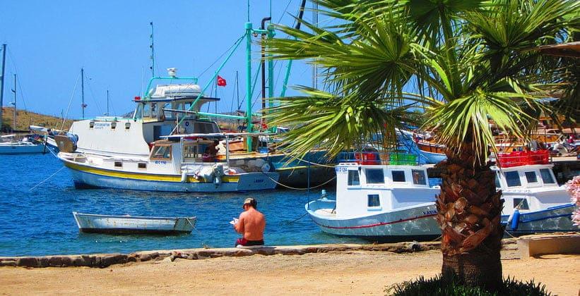 Полуостров Миндос в Турции