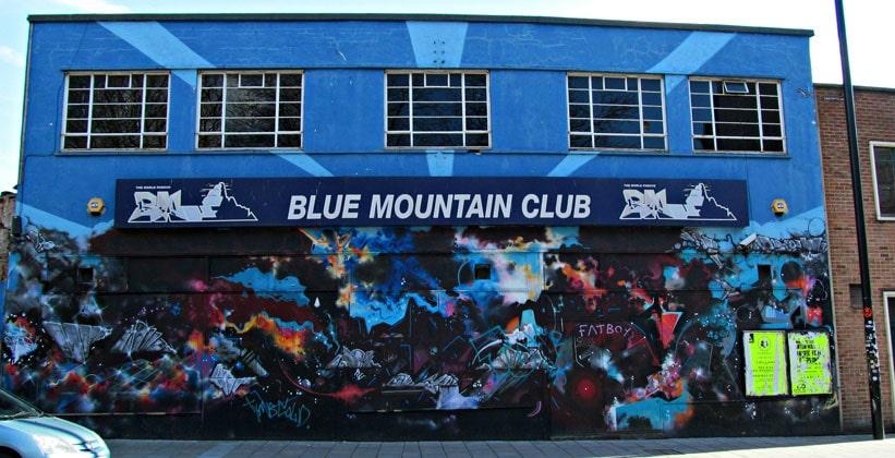 Ночной клуб Blue Mountain в Бристоле