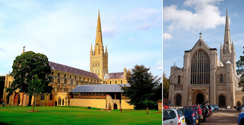 Нориджский Собор в Англии