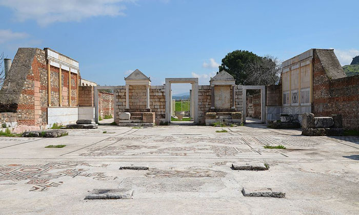 Остатки Синагоги Сарды