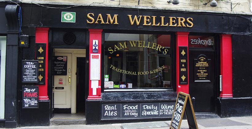 Паб Sam Wellers в Бате