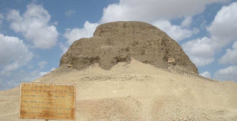 Пирамида Сенусерта II в Лахуне