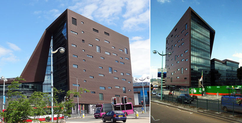 Здание Роланда Левински (Плимутский университет)