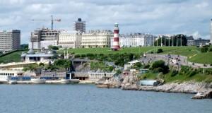 Английский город Плимут