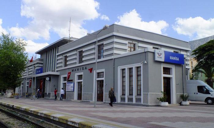 Железнодорожный вокзал Манисы