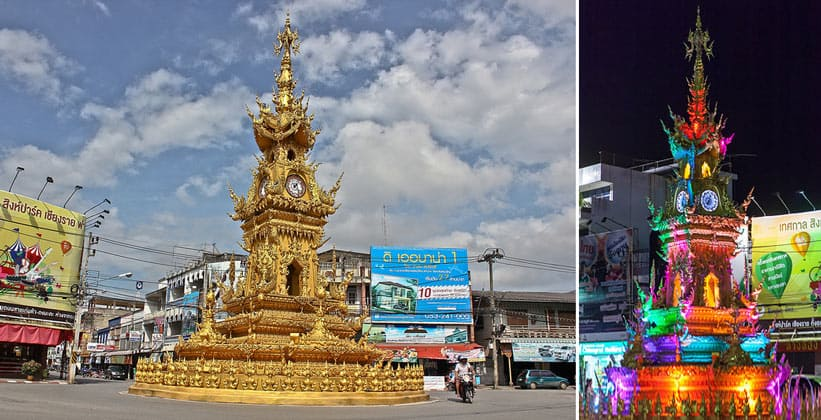 Часовая башня в Чианграе