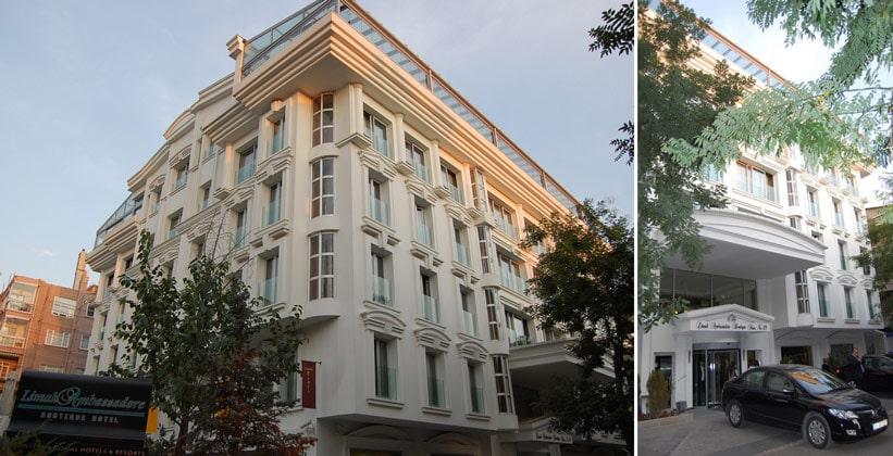 Отель Limak Ambassadore в Анкаре