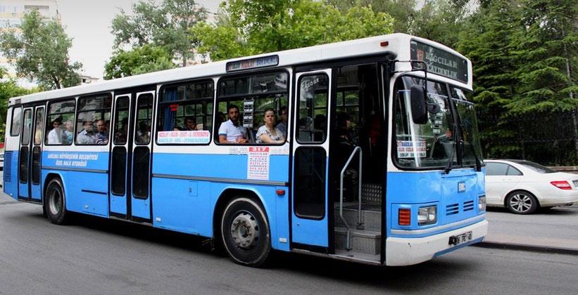 Муниципальные автобусы в Анкаре