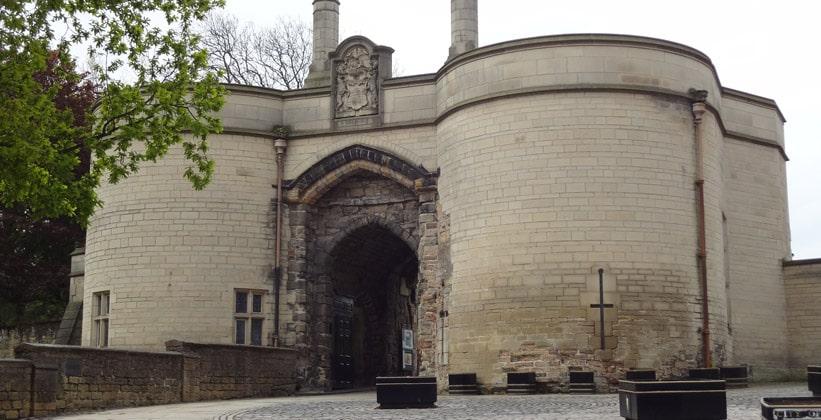 Ноттингемский замок в Англии