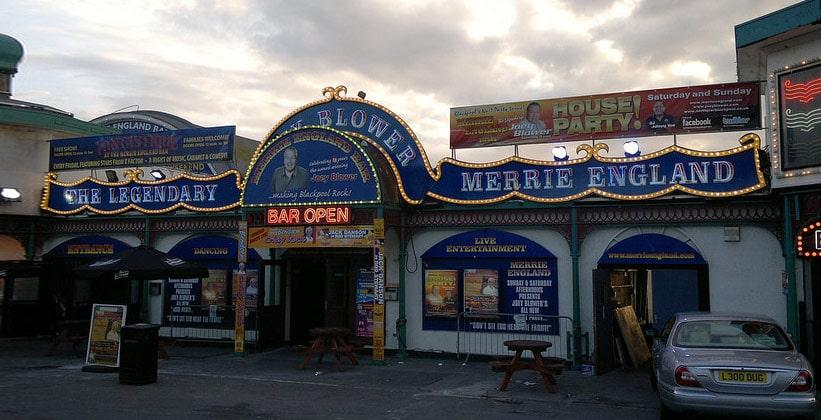 Паб-бар Merrie в Блэкпуле