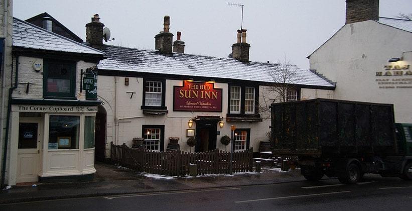 Паб The Old Sun Inn в Бакстоне