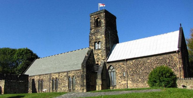 Церковь Святого Павла в городке Джарроу
