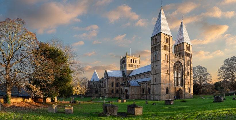 Кафедральный собор Саутуэлла в Англии