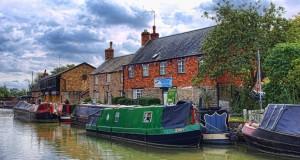 Деревня Сток Браерн в Англии
