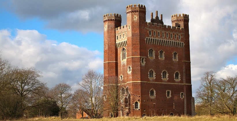 Замок Таттершел в Англии