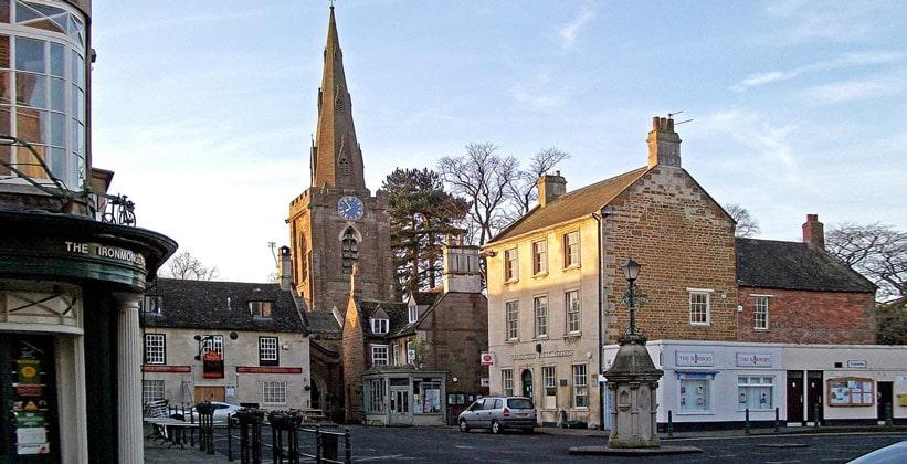 Городок Аппингем в Англии