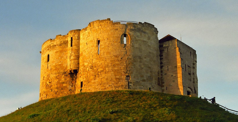 Йоркский замок в Англии