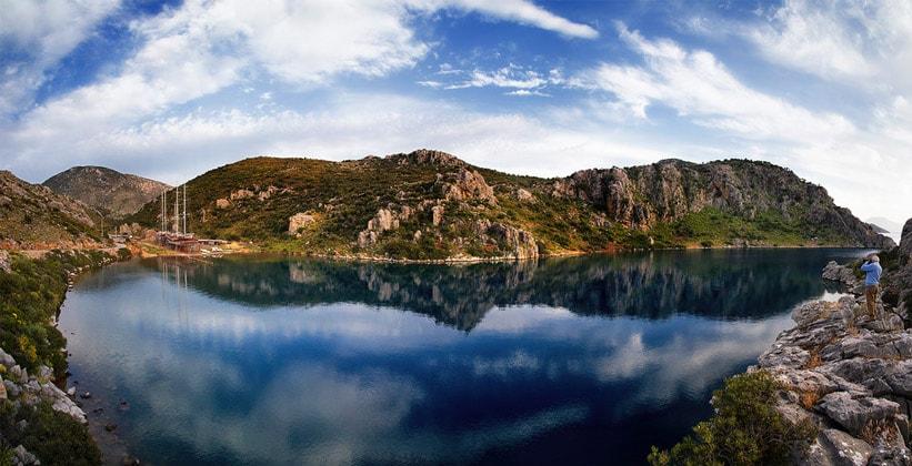 Полуостров Бозбурун в Турции