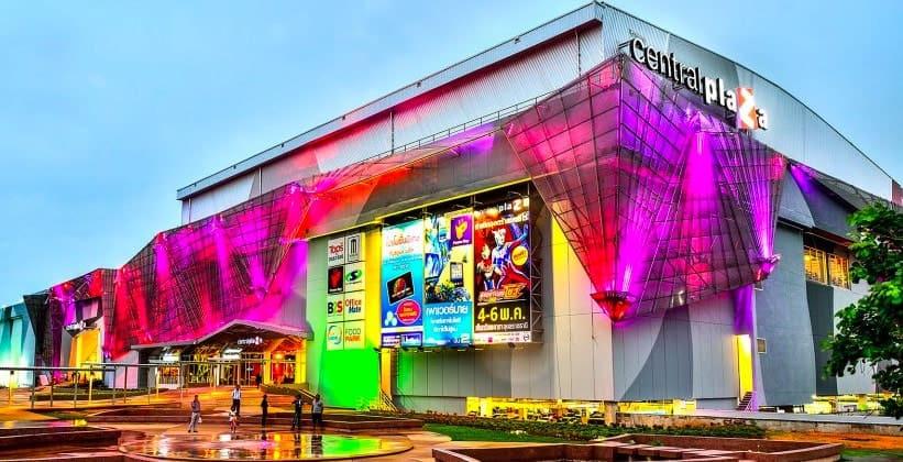 Торговый комплекс Central Plaza в Убонратчатхани