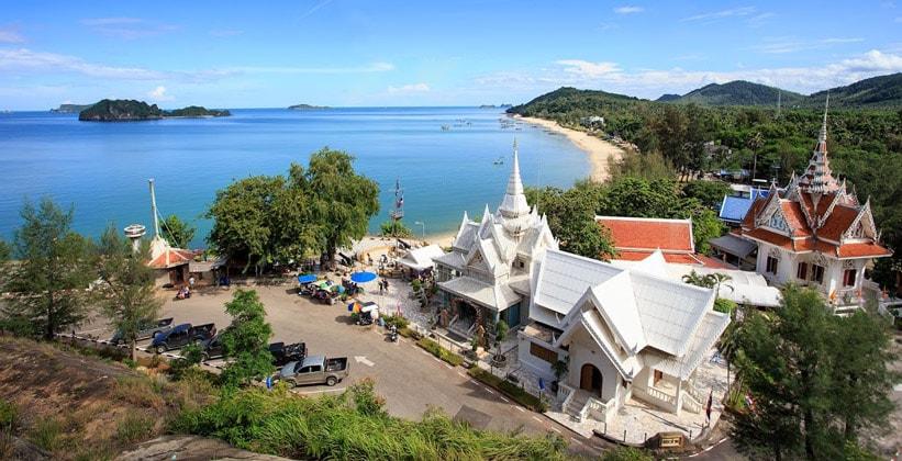 Город Чумпхон в Таиланде