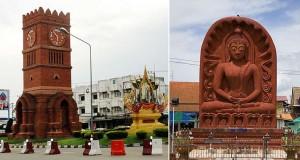 Таиландский город Кампенг Пхет (Часовая Башня)