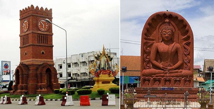 Город Кампенг Пхет в Таиланде