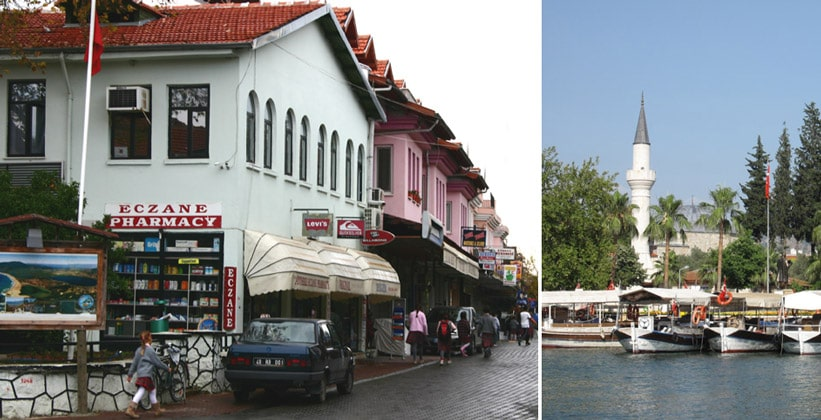 Город Дальян в Турции