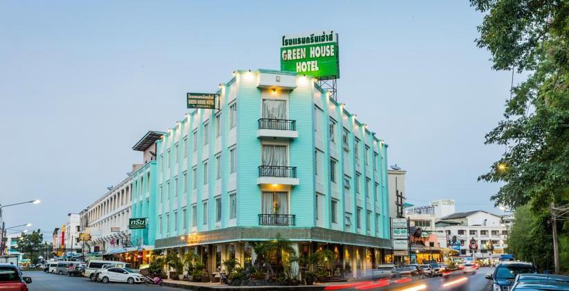 Отель Green House в Краби