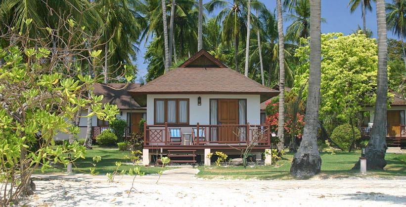 Один из отелей острова Пхи-Пхи Дон в Таиланде