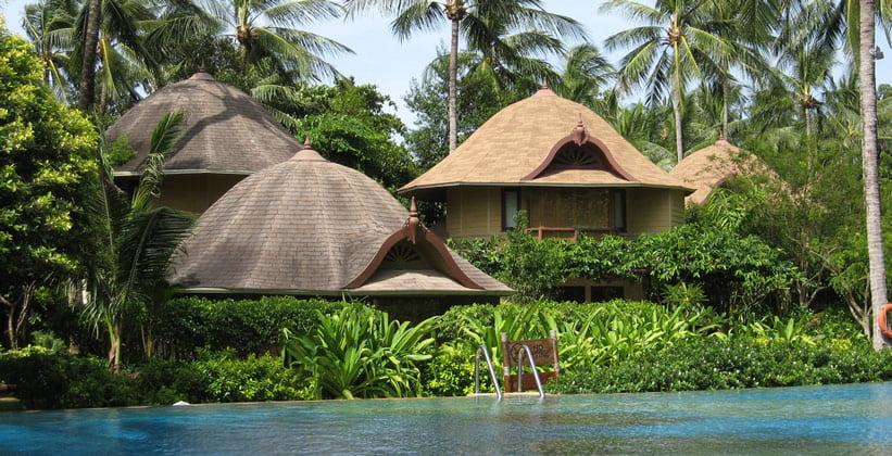 Отель Rayavadee на пляже Ао Пхра Нанг