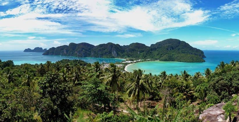 Остров Ко Пхи-Пхи Дон в Таиланде