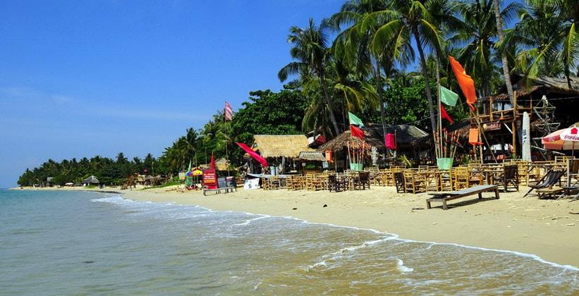 Курорт (пляж) Хат Клонг Кхонг на острове Ко Ланта Яй